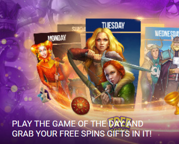 1xbet game of day free spins